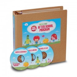 After School Program (Binder w/ 3 DVDs and 8 Weeks of Activities)