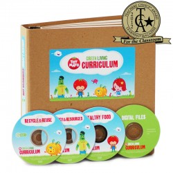Green Living Curriculum:  includes 3 DVDs + Binder