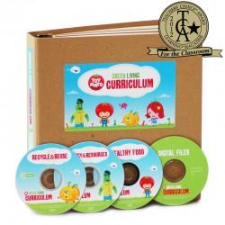 Green Living Curriculum:  includes 3 DVDs + Binder